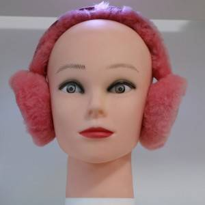 stylish real sheepskin fur earmuff