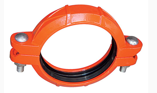 Ductile Iron Grooved Fittings Flexible Coupling