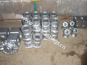 Custom-made stainless steel precision casting products