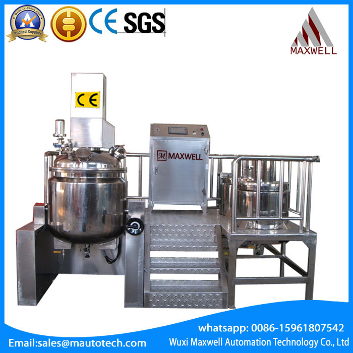 350L 650 L  Vacuum Emulsifying Mixer Featured Image
