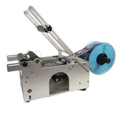 Semi-Automatic Round Bottle Labeling Machine Featured Image