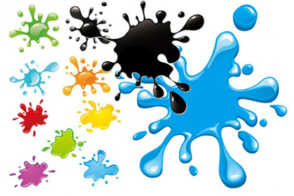 Printing ink categories