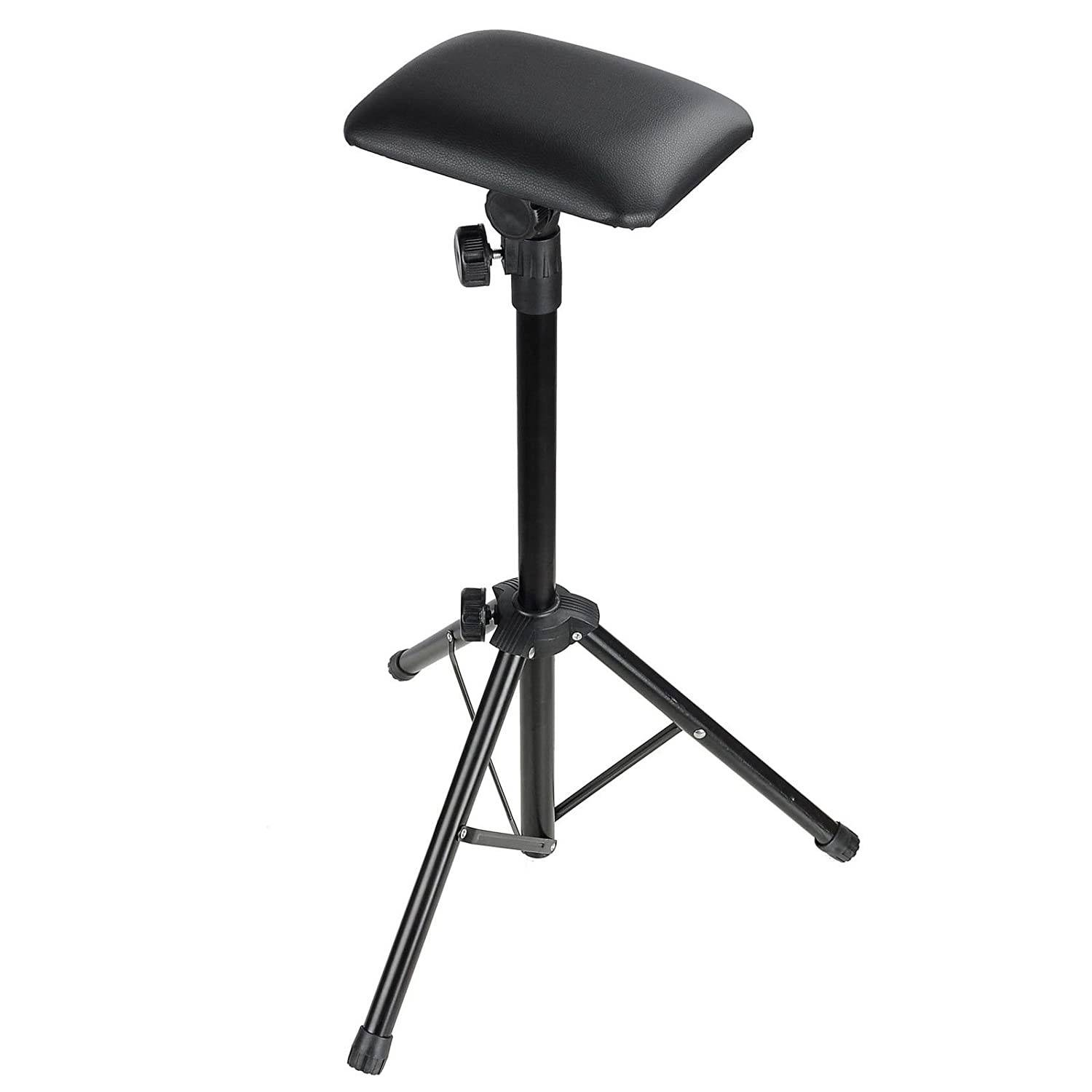 Tattoo Adjustable Height Black Arm Rest Stand