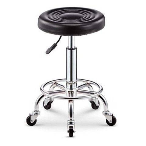 Rotating backrest tattoo stool computer chair beauty salon work stool household lifting round stool bar stool Featured Image