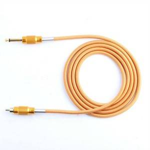 RCA Silicone Rubber Tattoo Power Cord
