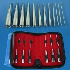 12 pcs Body Piercing Tool Cone Kits for Ear Navel Nose Supply