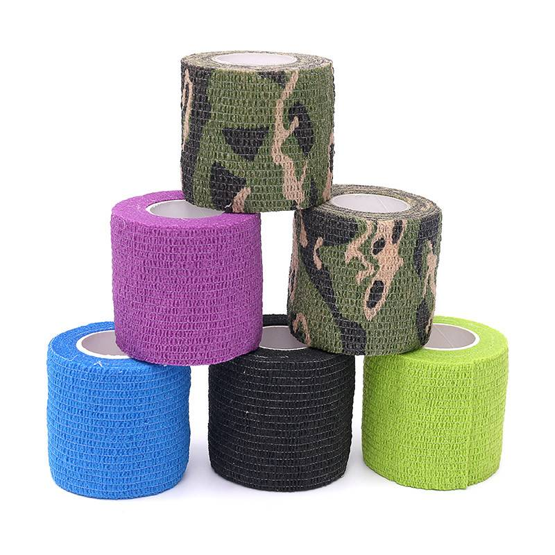 Magic 5CM Grips Cover Elastic Adhesive Covers Disposable Tattoo Grip Bandage Featured Image