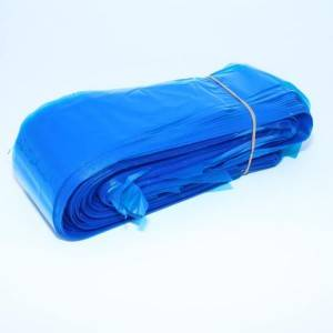 Disposable Blue Protective Bag for Tattoo Clip Cord 125pcs Plastic Tattoo Clip Cord Sleeves