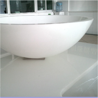 Nano glass vanity top