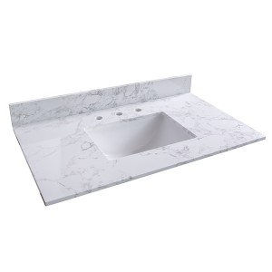 artificial marble vanity top