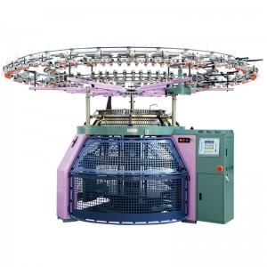 Circular Jacquard Knitting Machine - Three Thread Fleece Knitting Machine – Morton