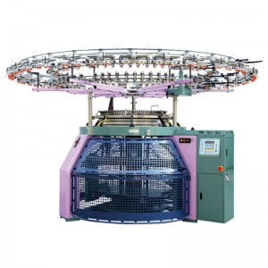 Factory Supply Automatic Computerized Jacquard Machine - Reverse Terry Knitting Machine  – Morton