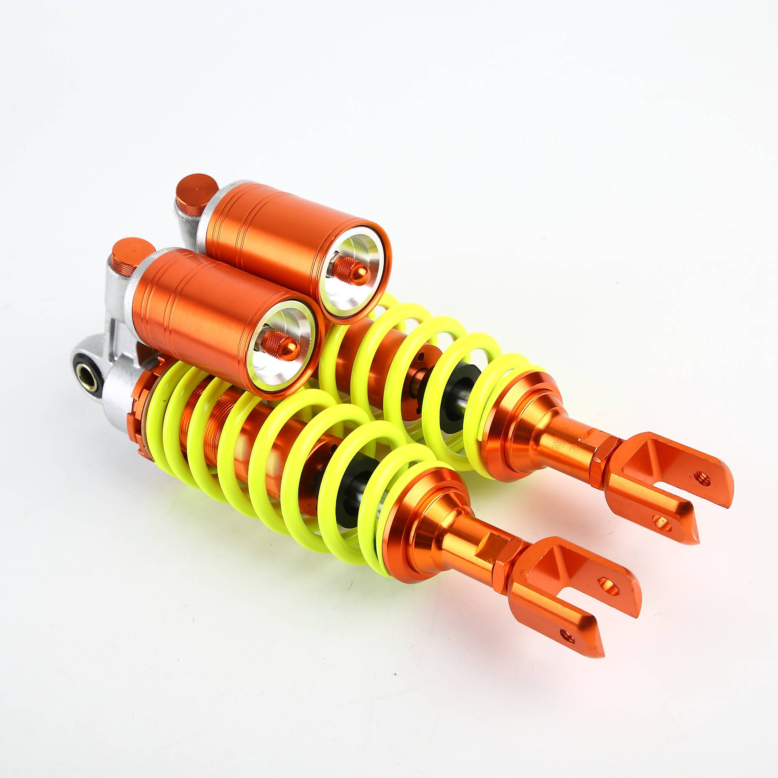 R116  290MM Yellow and Orange Shock Absorber/Damper for Motorcycles, Dirt Bikes