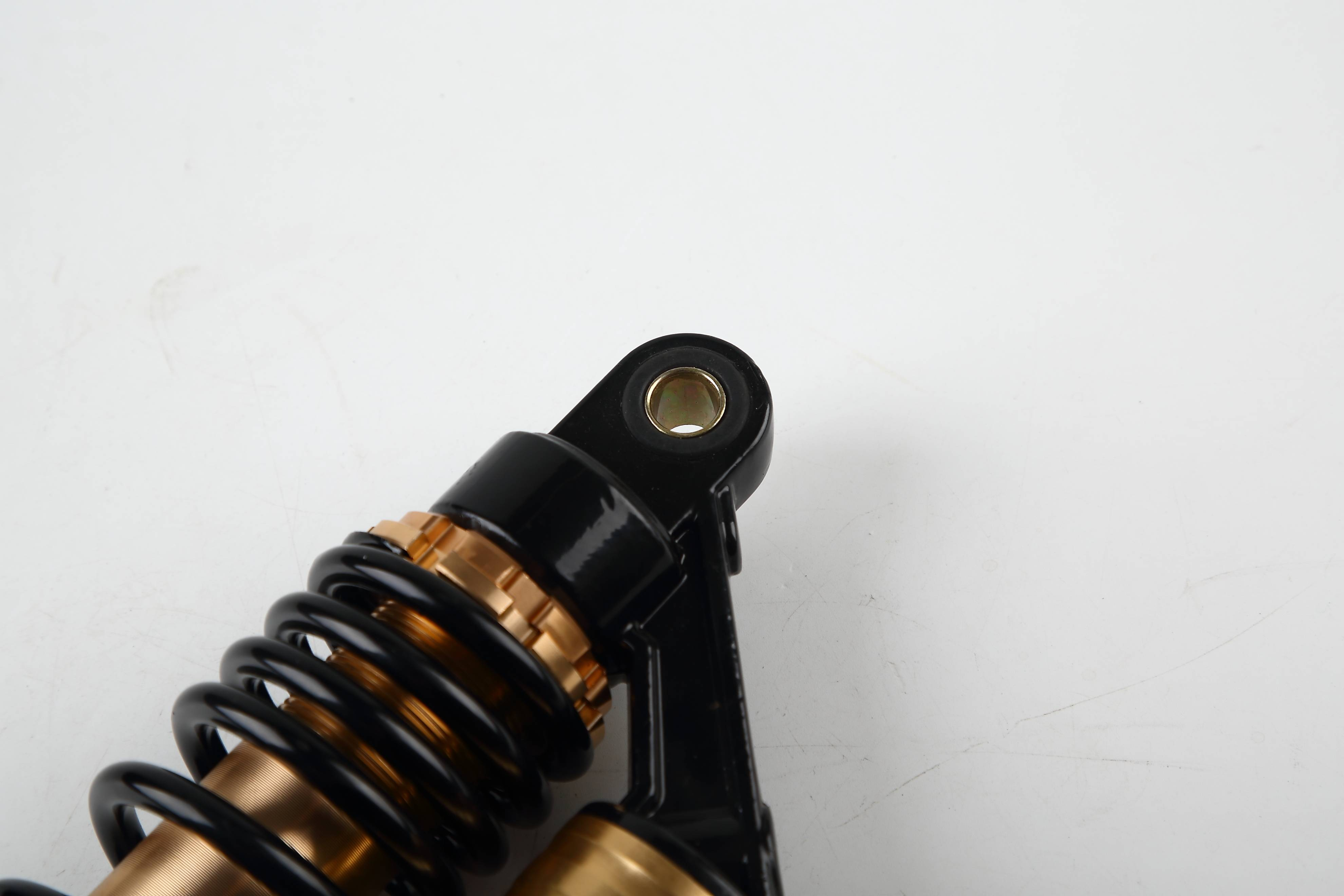 R231 yellow and black rear shock absorber/damper for motorcycles, pit dirt bikes with air bag