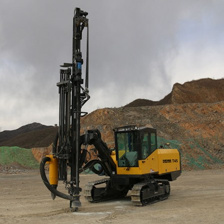 SHEHWA T45 Full Hydraulic Top Hammer Surface drilling rig