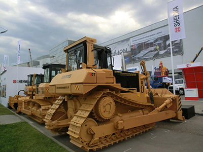 HBXG and Russian exclusive agent RBA company jointly participated in the Ugol Rossii Mining Exhibition