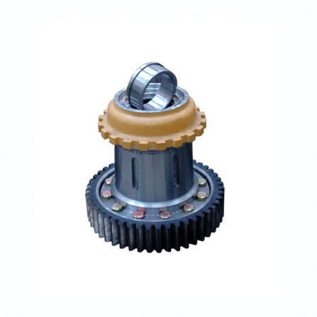 Shaft end flange