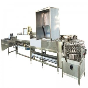 MT-500-1 Egg washing and breaking machine