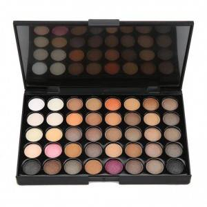 40 color shadow eyeshadow glitter palette private label