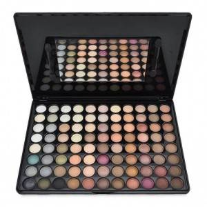 Professional 88 Colors Natural Fusion Eyeshadow Palette Combination Cosmetic Pallet Shimmer