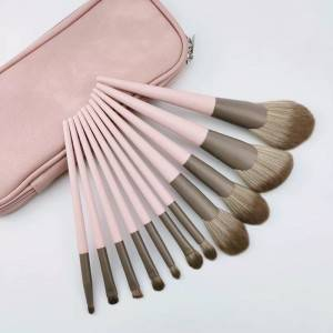Processional High Quality 11pcs Makeup Brush Set Beauty Makeup Tool Smudge Pink Makrup Brush Wholesale