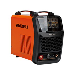 Manufactur standard Mini Mig Welding Machine - MIG-500 Inverter CO2 gas shieled welding machine – Andeli