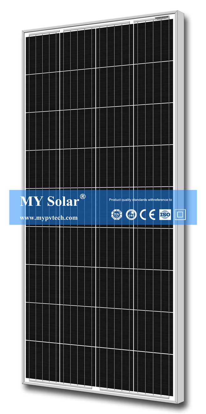 MY SOLAR M3 Mono Solar PV Panel 185w 190watt 195wp 200 Watt 205 w Perc Solar Pv Module Featured Image