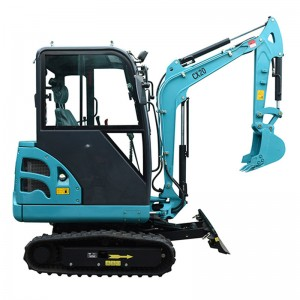 2.0T with  0.06CBM Pilot Operation Mini  Crawler Excavator