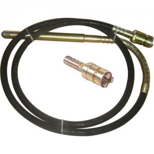 Australian three-claw 38mm-45mm concrete vibrator shaft
