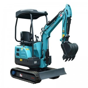 1680KG with 0.045CBM Hydraulic Mini Excavator