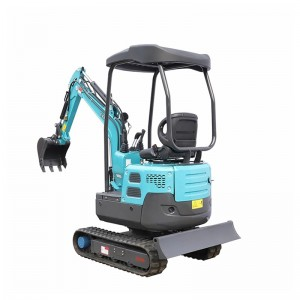 1380KG Rotary arm  Hydraulic Mini Crawler Excavator
