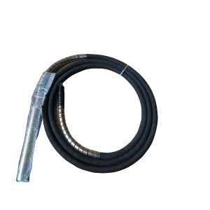 Wacker type  square 8mm connector concrete vibrator shaft