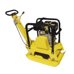 125kg with 25.0kn Reversible plate compactor