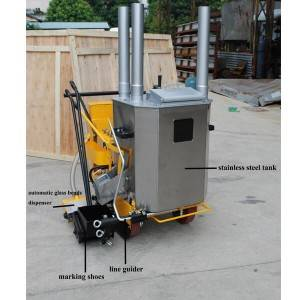 All- in-one road marking machine