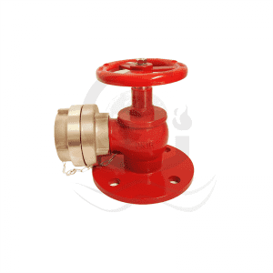 Marine right angle valve