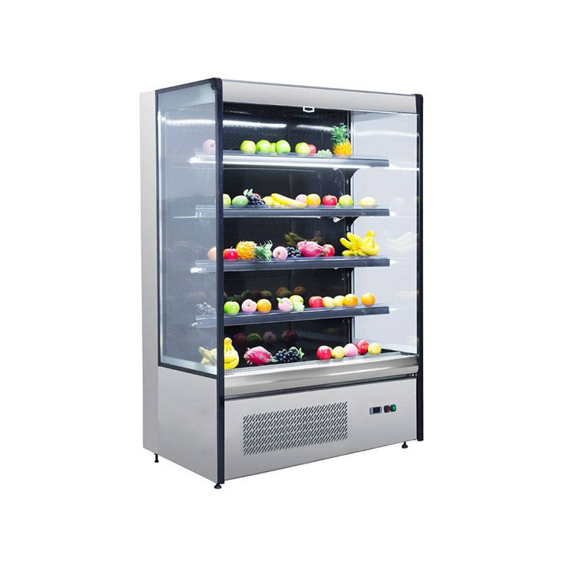 Multideck Plug In Supermarket Fruit Vegetable Showcase BLF-1080