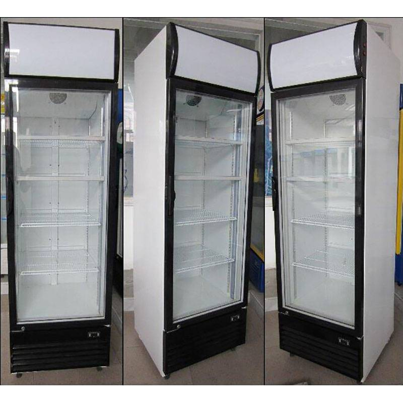 Single Glass Door Fan Cooling Upright Showcase LG-430F