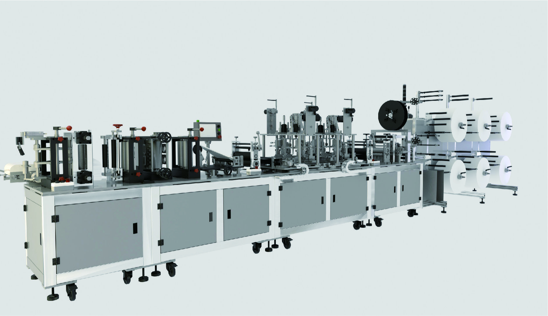 KN95 high speed fully automatic mask machine Featured Image