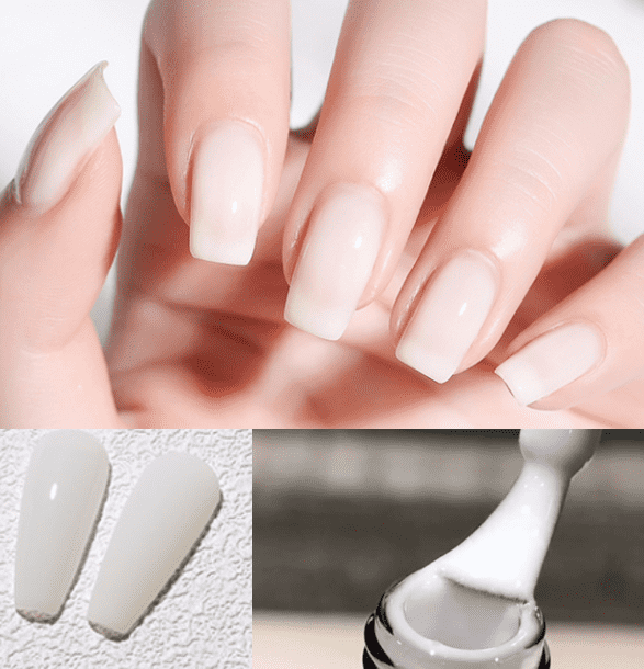 Free sample French White gel polish/Semipermanent gel polish OEM and customized packaging are available from professional manufactuer