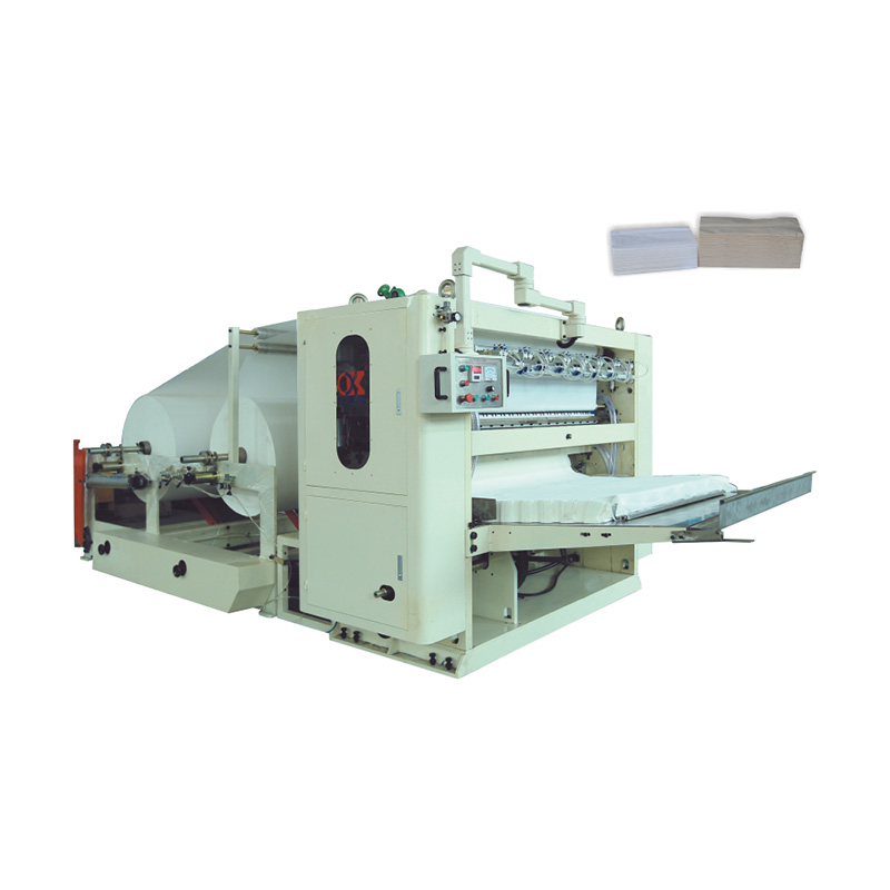Semi-automatic Facial Tissue Folding Machine