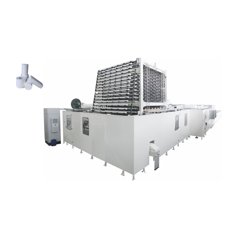 OK-600,400 Type Full-Auto Toilet Tissue, Kitchen Towel Rewinder Production Line