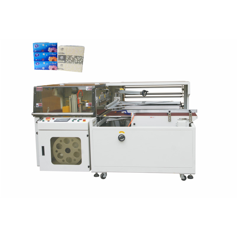 OK-400B Type Full-Auto Box Tissue Shrink Bundling Packing Machine Featured Image
