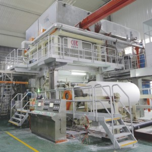 OK High Speed Vacuum Cylinder Tissue Paper Machine