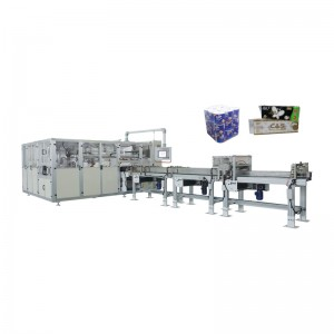 OK-903D Type Multi-functional Toilet Tissue Bundling Packing Machine