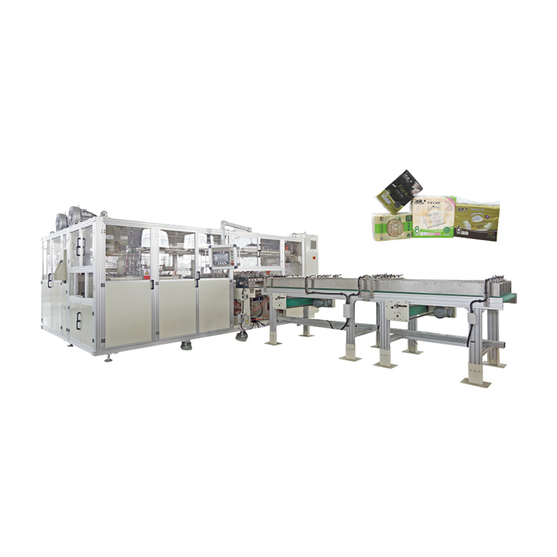 OK-902E Type Facial Tissue High-speed Bundling Packing Machine