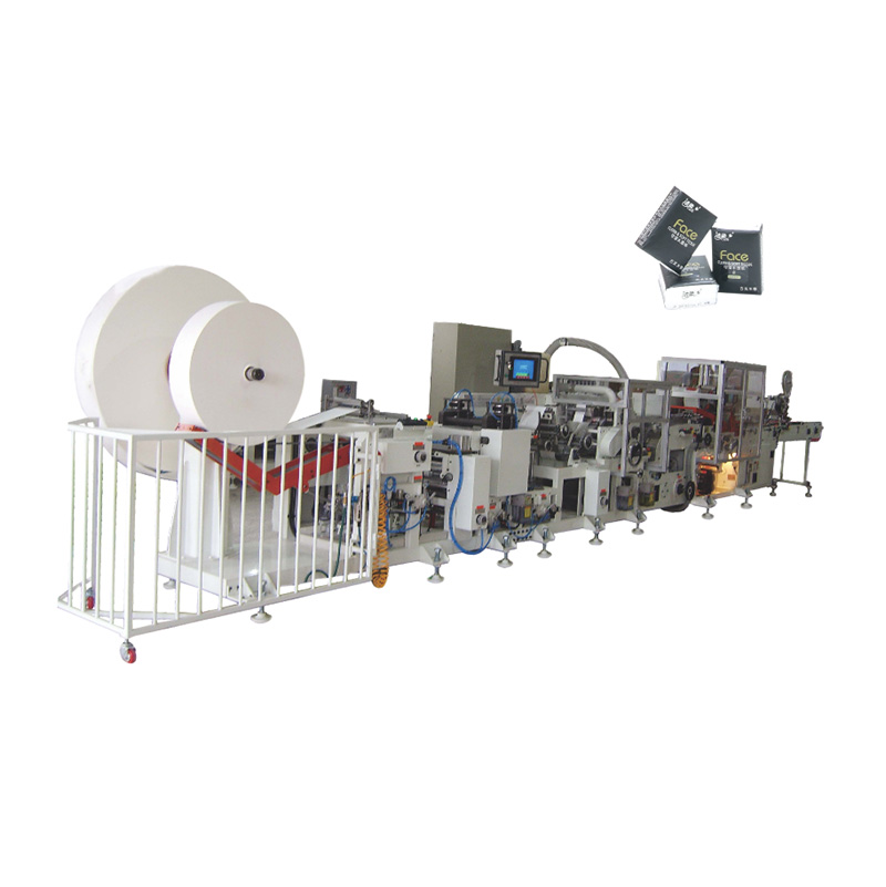 OK-150 Type Handkerchief Tissue Single Lane Production Line