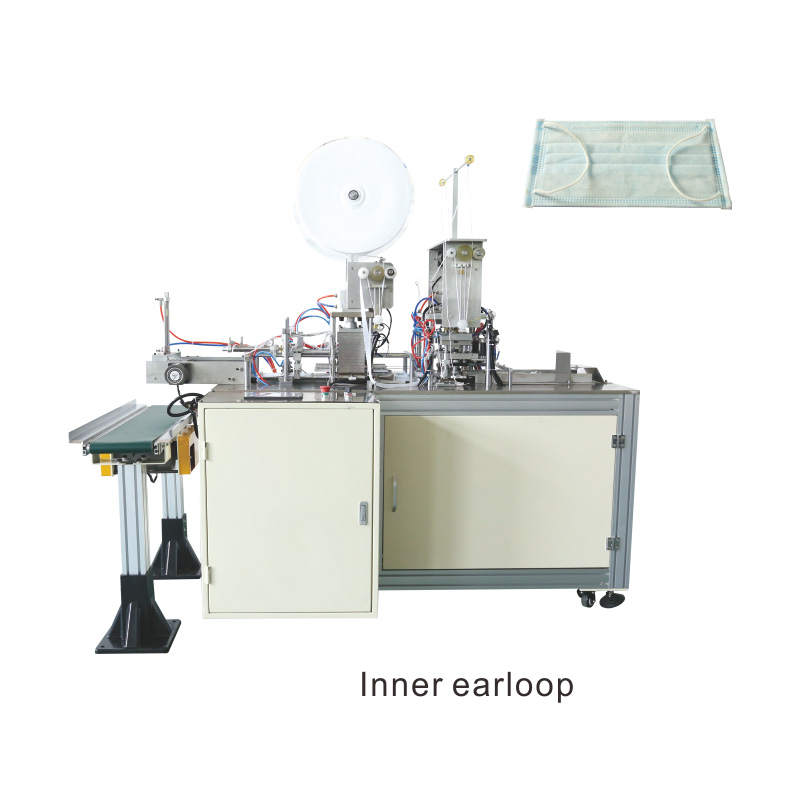 OK-175B Type Plane Ear Loop Mask 1+2 High Speed Production Line