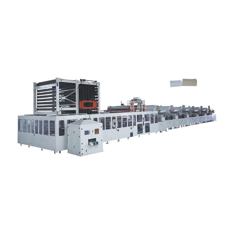 OK-3600, 2860, 1860 Type Full-auto Facial Tissue Folding Machine
