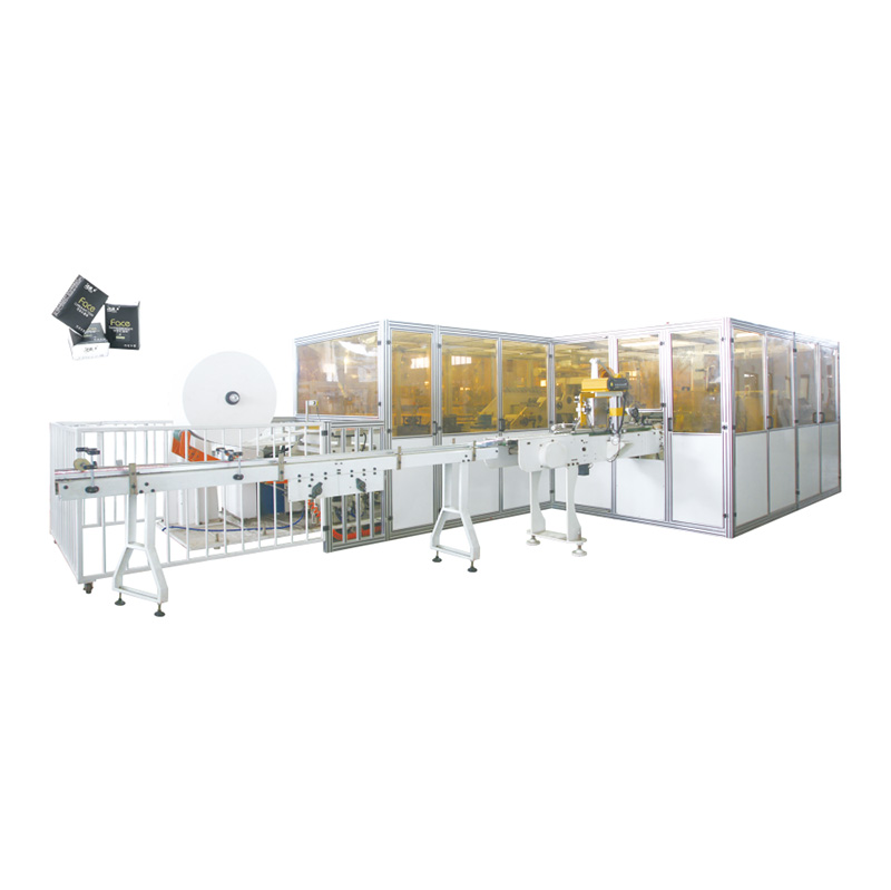 OK-250 Type Double Lanes High-Speed Handkerchief Tissue Production Line Featured Image