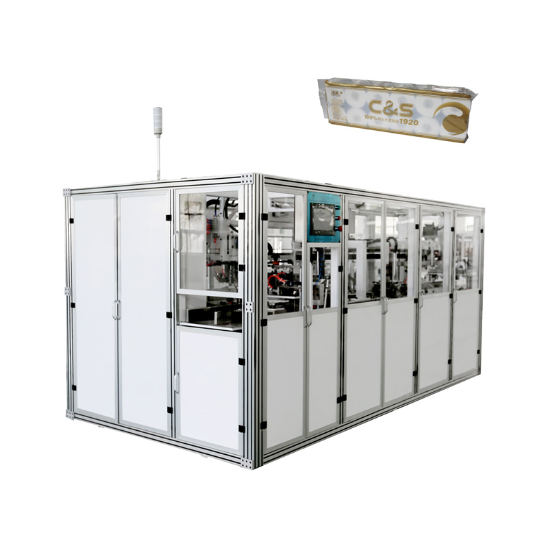 OK-903A Type Toilet Tissue Bundling Packing Machine